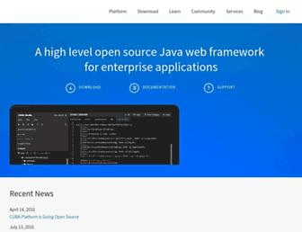 cuba-platform.com screenshot
