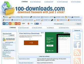 Thumbshot of 100-downloads.com