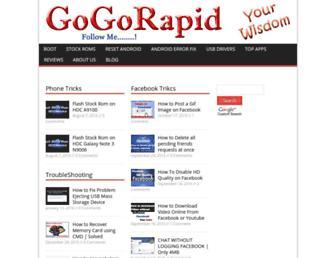 gogorapid.com screenshot