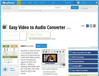 easy-video-to-audio-converter.en.softonic.com screenshot