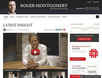 Thumbshot of Rogermontgomery.com