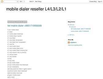 mobile-dialer-reseller-l4l3l2l1.blogspot.com screenshot