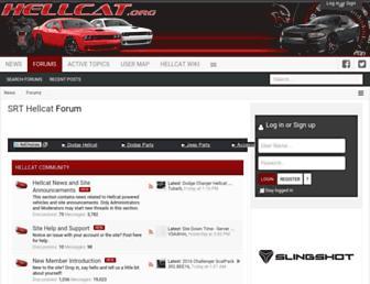 hellcat.org screenshot