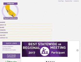 californiapayroll.org screenshot