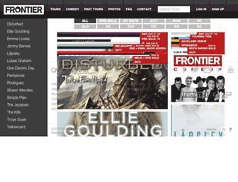 Thumbshot of Frontiertouring.com