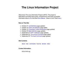 linfo.org screenshot