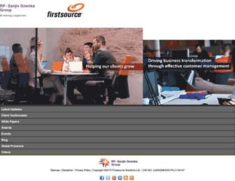 Thumbshot of Firstsource.com