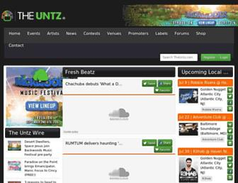 theuntz.com screenshot