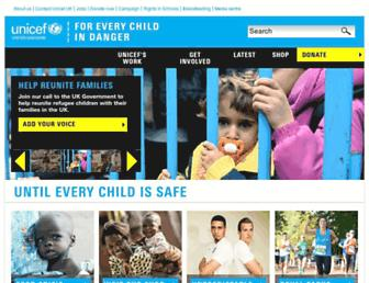 Thumbshot of Unicef.org.uk