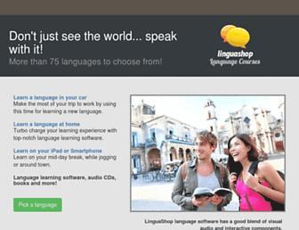 linguashop.com screenshot