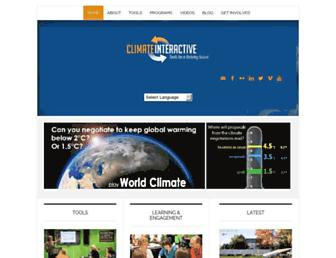 climateinteractive.org screenshot