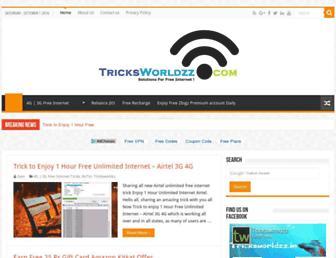 tricksworldzz.com screenshot