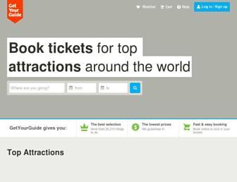 getyourguide.com screenshot