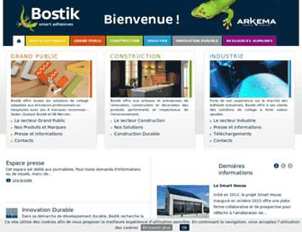 bostik.fr screenshot