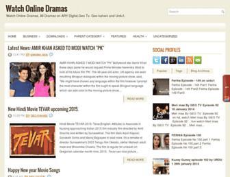 dramaslive1.blogspot.com screenshot