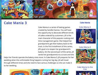 cakemania3.net screenshot