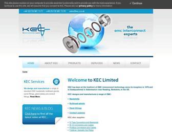 kec.co.uk screenshot