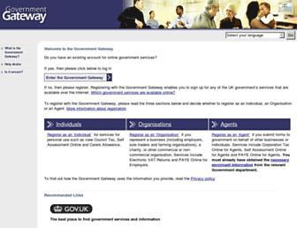 Thumbshot of Gateway.gov.uk