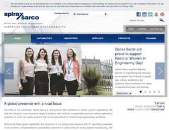 spiraxsarco.com screenshot