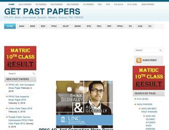 Thumbshot of Pastpaper.pk