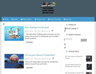 gameusttad.blogspot.com screenshot