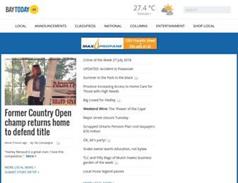 baytoday.ca screenshot