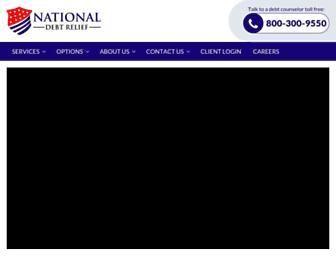 Thumbshot of Nationaldebtrelief.com