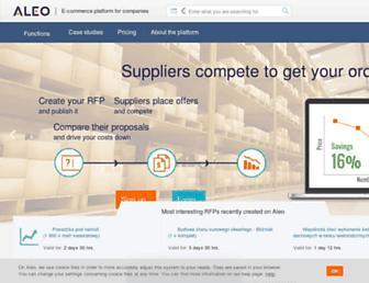 aleo.com screenshot