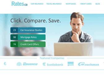 rates.ca screenshot