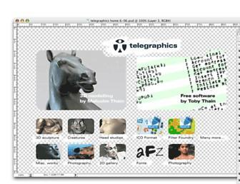 telegraphics.com.au screenshot