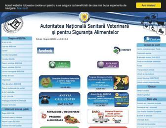 ansvsa.ro screenshot