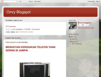 omriblogger.blogspot.com screenshot