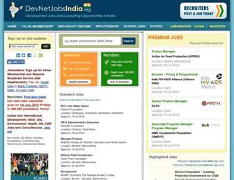 Thumbshot of Devnetjobsindia.org