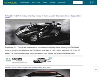 conceptcarz.com screenshot