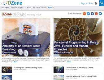 Thumbshot of Dzone.com