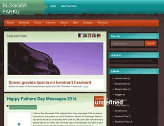bloggerparku.blogspot.com screenshot