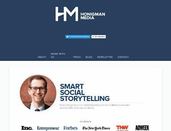 Thumbshot of Brianhonigman.com