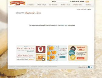 Thumbshot of Pepperidgefarm.com