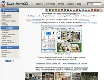 Thumbshot of Sweethome3d.com