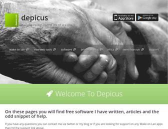 depicus.com screenshot