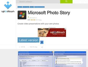 microsoft-photo-story.en.uptodown.com screenshot