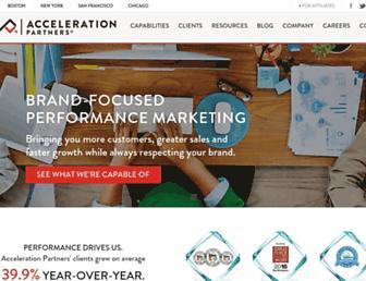 Thumbshot of Accelerationpartners.com