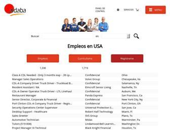 aldaba.com screenshot