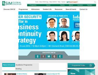 Thumbshot of Simge.edu.sg
