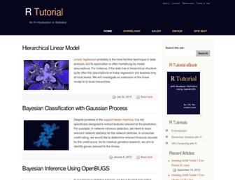 Thumbshot of R-tutor.com