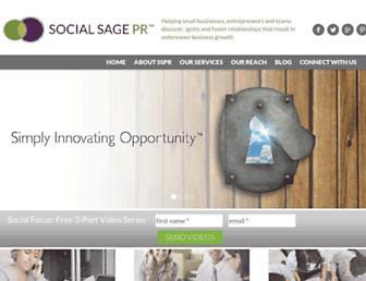 Thumbshot of Socialsagepr.com