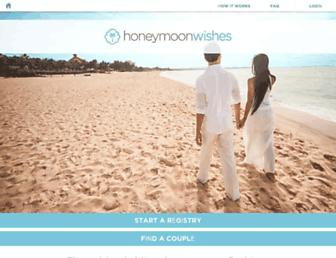 Thumbshot of Honeymoonwishes.com