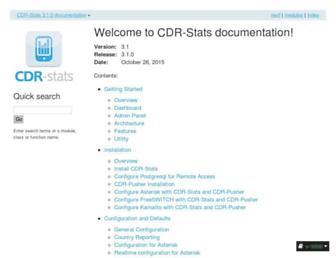 cdr-stats.readthedocs.io screenshot