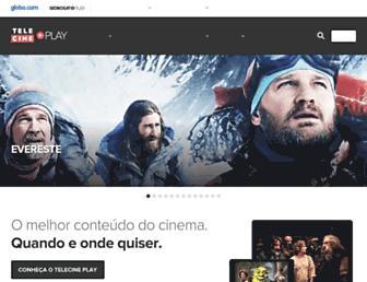 telecineplay.com.br screenshot