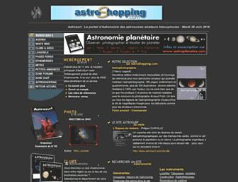 astrosurf.com screenshot